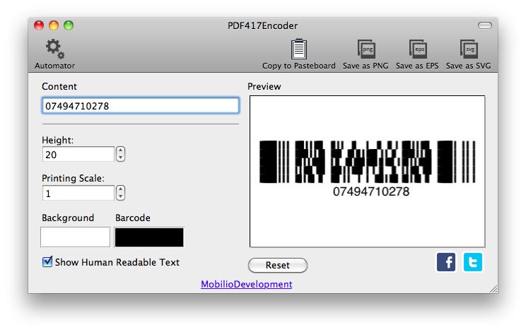 Pdf417encoder Pdf417 Barcode Generator