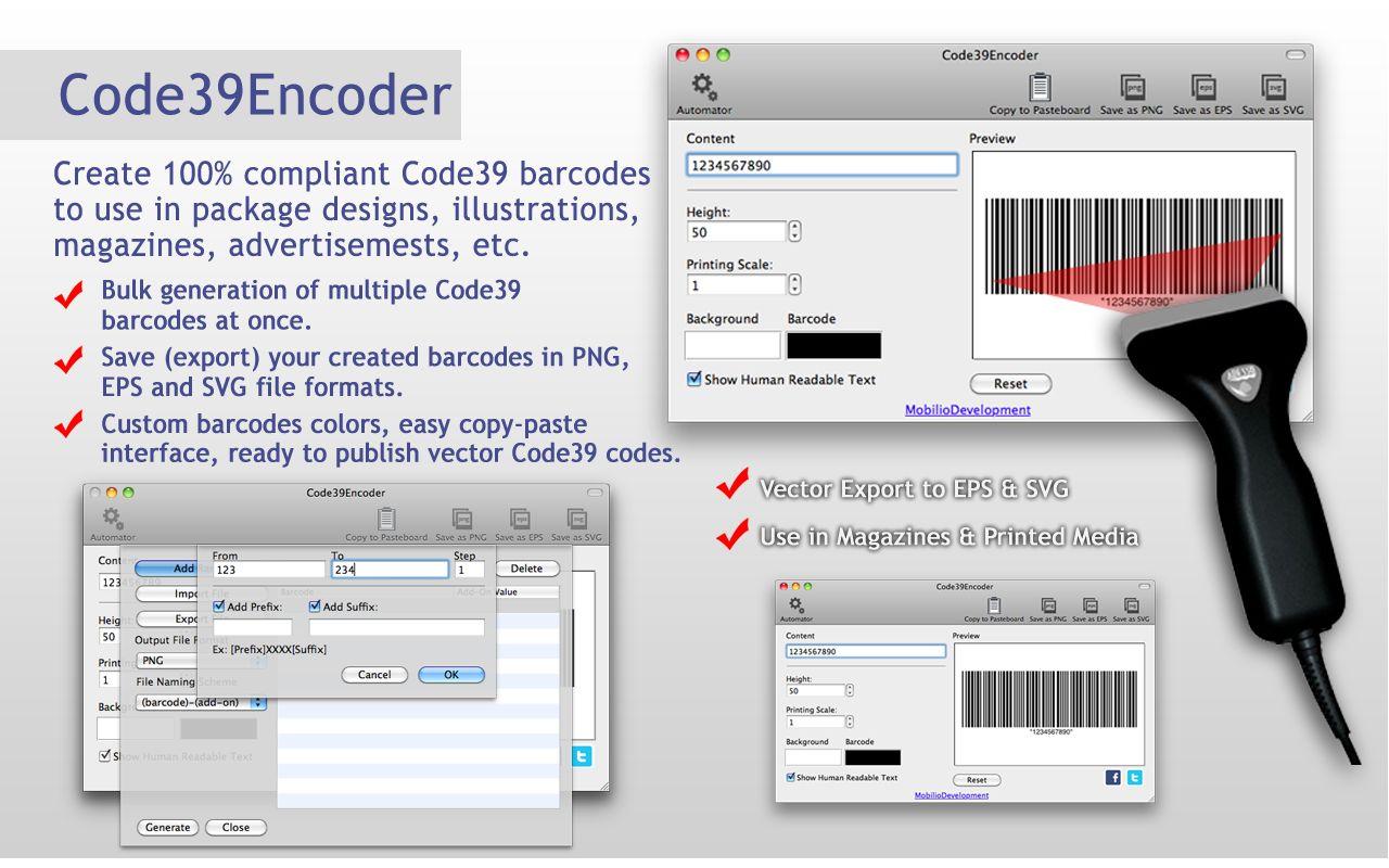 code 39 barcode generator