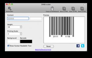 ean8 barcode