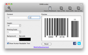 ean8 barcode with ean2 addon