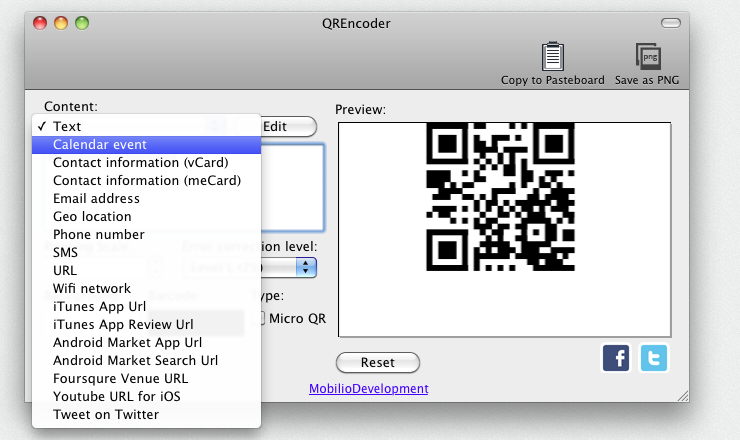 qrencode windows