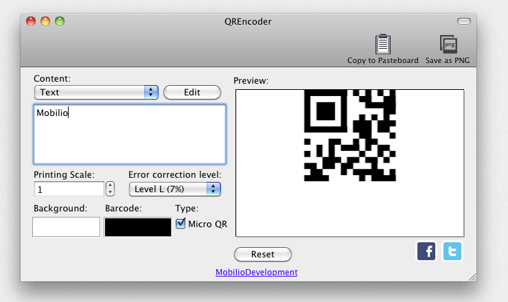 QREncoder - free QR barcode generator