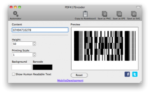 pdf417 removing readable
