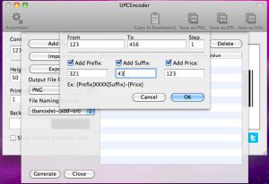 upcencoder adding range