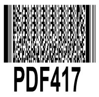 PDF417 – one really useful barcode standard