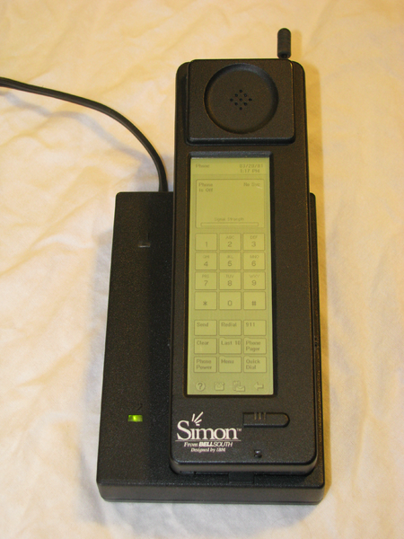 Simon first smartphone