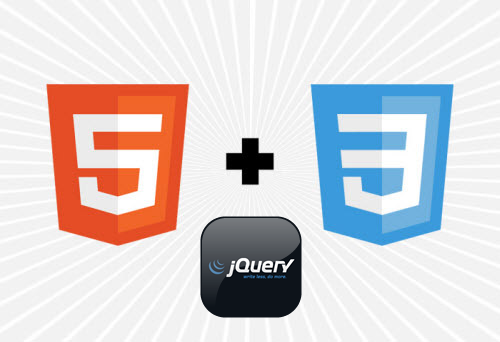 HTML5, CSS3 and jQuery