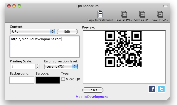 QREncoder version 1.5