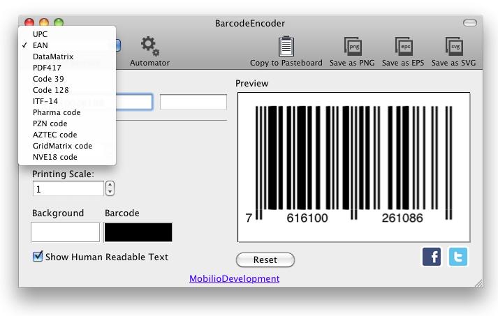 BarcodeEncoder, UPCEncoder, EANEncoder versions 1.5