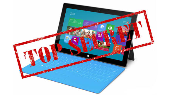 microsoft surface tablet secrets