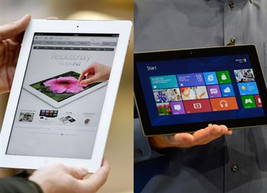microsoft surface vs ipad
