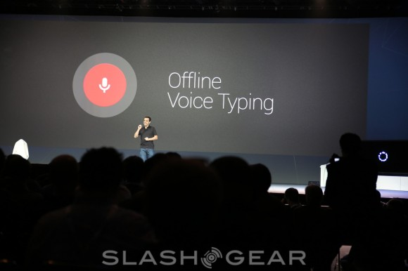 google voice typing