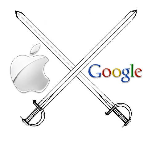 apple and google are becoming true competitors