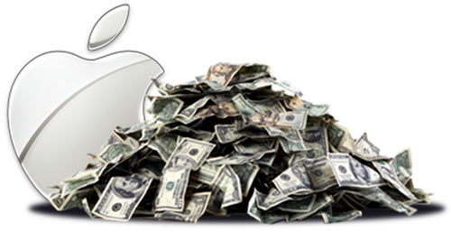 apple inc cash pile