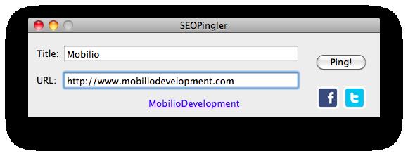 SEOPingler - MobilioDevelopment