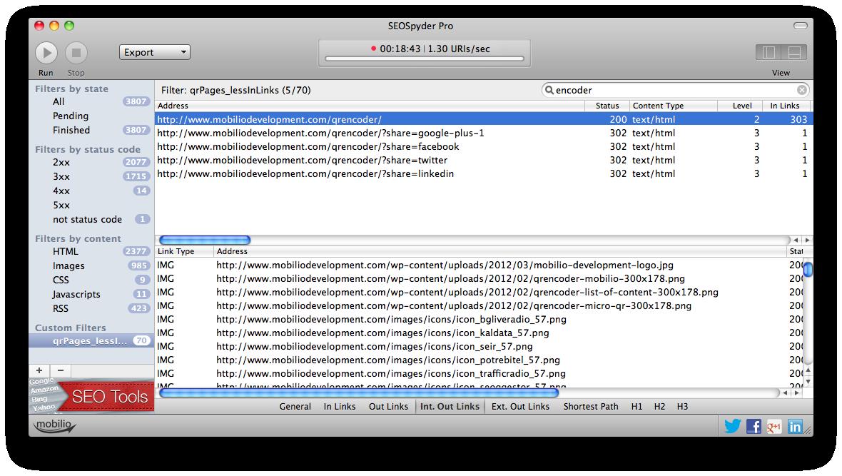 seospyder-custom-filter-search
