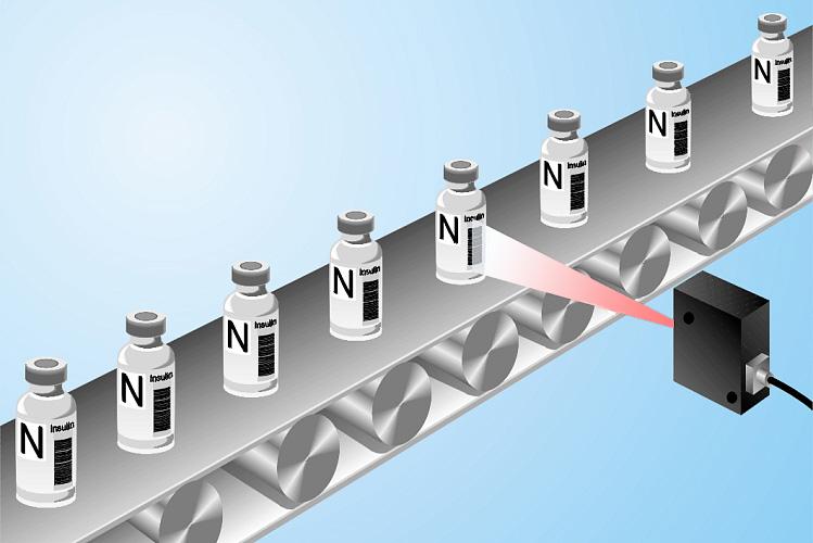 scaning pharmacode barcodes
